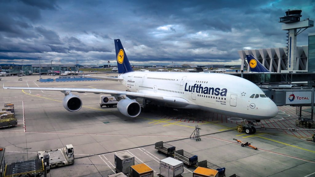 opóźniony lot - Lufthansa